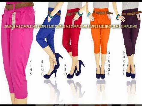 Hotpants All Size Pinggang Karet Melar Stretch Floral Bunga Brown celana toko baju murah