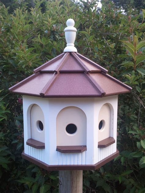 Handcrafted Birdhouses - amish handcrafted handmade poly gazebo birdhouse