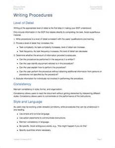 standard operating procedure templates apple iwork pages