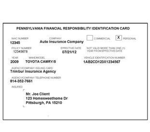 proof of insurance card template temporary auto insurance card listmachinepro