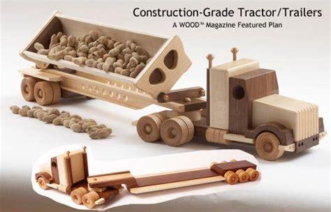 plans  wood toy trucks  plans wooden toys