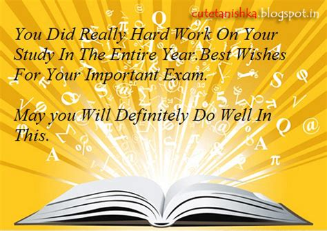 best of luck wishes greeting card for exam best wishes