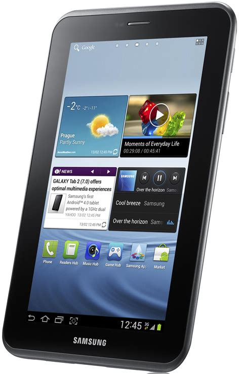 Tablet Samsung Ukuran 7 Inci galaxy tab 2 de 7 inci ajunge in romania hit ro