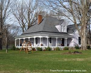 Country Homes With Wrap Around Porches Farm House Porches Country Porches Wrap Around Porches