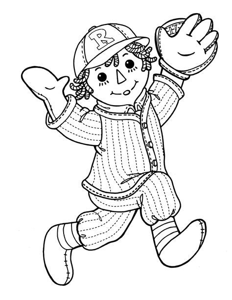 coloring book pages raggedy raggedy 21 coloringcolor