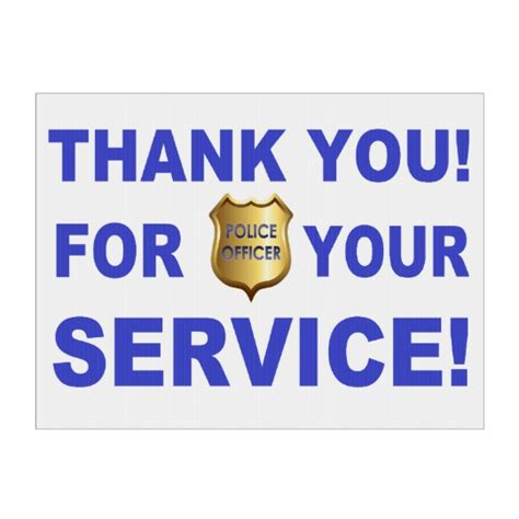 thank you for your service thank you for your service yard sign zazzle