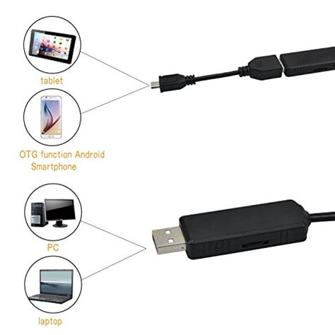 Android Endoscope Ip67 Waterproof For Smartphone And Pc Laptop inspection giwox 2 0 mp usb smartphone endoscope