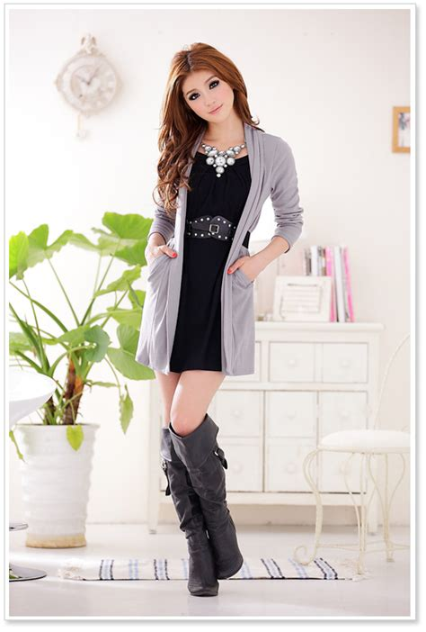 fashion clothes big size blouse p  gray p