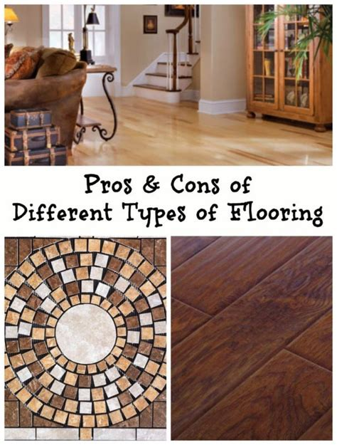 Pros And Cons Of Flooring Types by 1000 Images About Wow Did You On