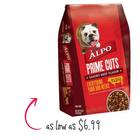 alpo food alpo food 16lb as low as 6 99 the harris teeter deals