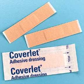 coverlet adhesive dressing beiersdorf jobst coverlet adhesive dressings strip 3 4 x 3