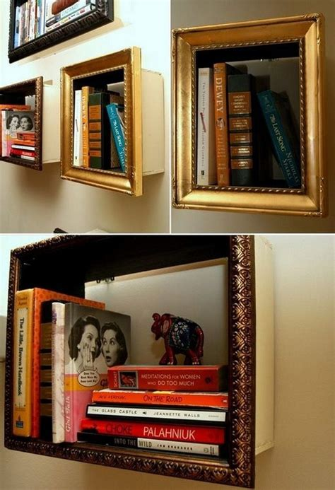 best 25 unique bookshelves ideas on dvd wall