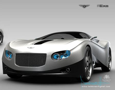 bentley sports car ten11 sports car is inspired by kite boarding tuvie