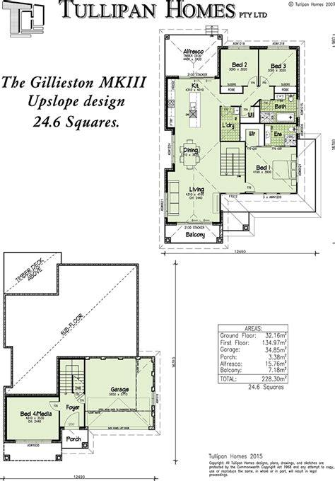 upslope house designs gillieston mkiii upslope design home design tullipan homes