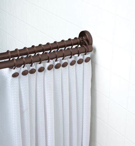 straight double shower curtain rod double straight tension shower curtain rod curtain