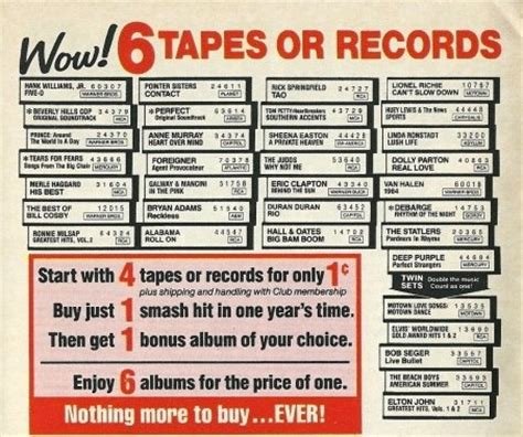 columbia house music cds the cloud is modern day version of columbia house tunesmate s music news forum