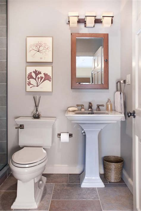 bathroom renovation ideas for small spaces تصميمات أنيقة للحمامات المرسال