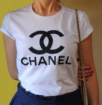 T Shirt Kaos Coco Chane 1 chanel t shirt t shirt donna celebrit 224 donna t shirt stata cool t shirt