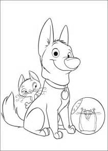 disney bolt dog coloring pages coloring pages