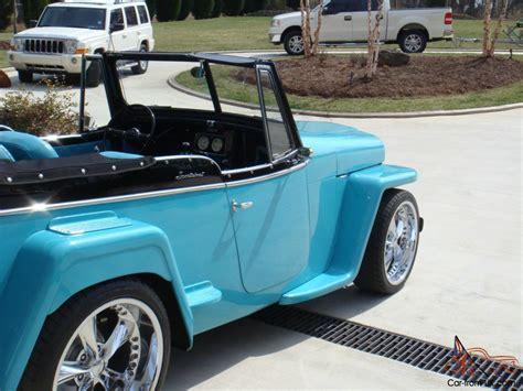 custom willys jeepster willys jeepster custom interior