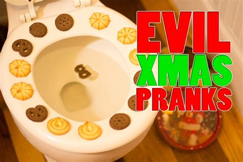 evil xmas pranks youtube