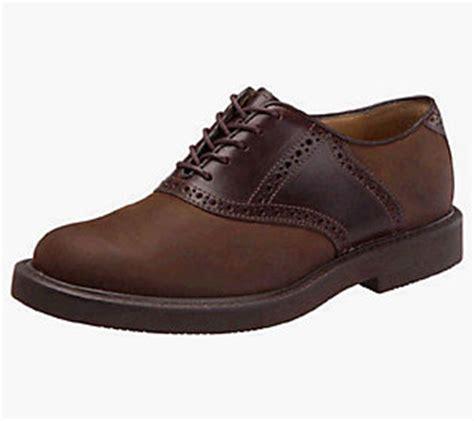 mens rugged classic saddle shoes cus qvc