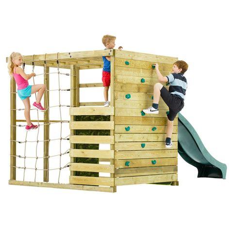 plum climbing cube wooden play centre outdoor toys