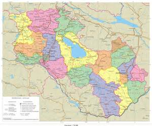 map of and armenia large maps of karabakh armenia and south caucasus this