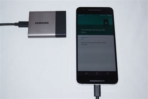 format exfat from android samsung portable ssd t3 review