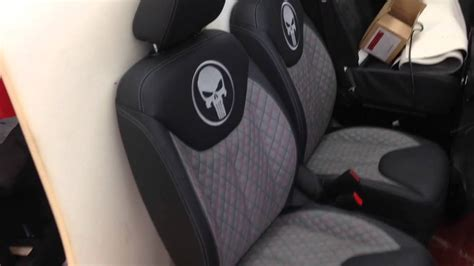 Car Upholstery Material For Sale by Jeep Punisher Edition Ep 8 Skull Theme Seats Leather Conversion Weather Proof Luxury Seats