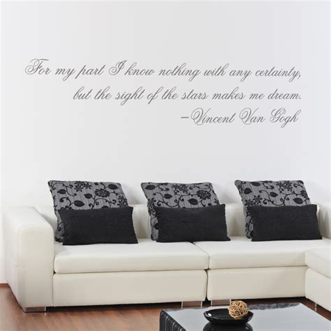 make wall stickers the make me gogh quote wall decals stickers graphics