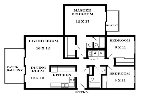 how many square feet is a 3 bedroom house lawrence apartments meadowbrook 2601 dover square