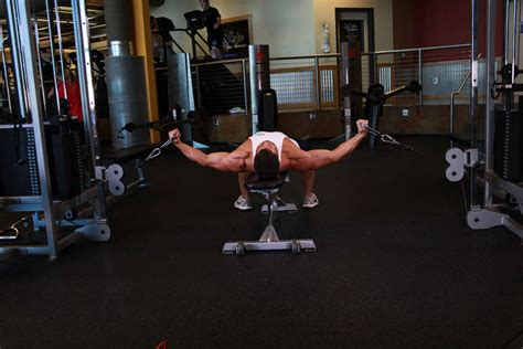 flat bench chest fly cable built 8 moves for massive muscle