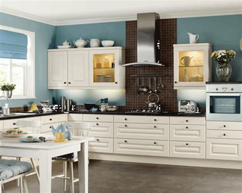 Kitchen Colors With White Cabinets Home Furniture Design Kitchen Design White Cabinets
