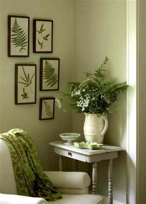 green accessories for living room https www chartingnature fern vintage prints this company has great vintage fern