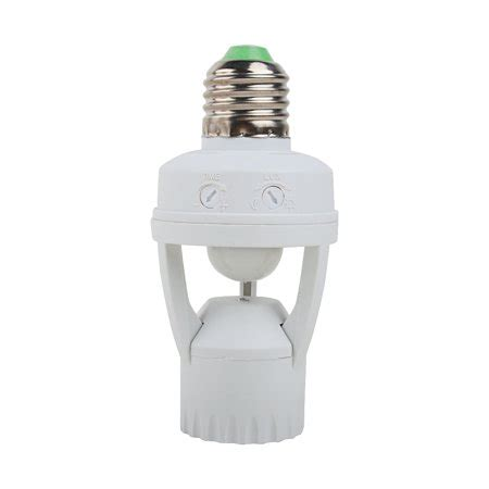 light bulb socket to ac outlet walmart ac110v 240v socket infrared motion sensor automatic e27 light l holder switch walmart