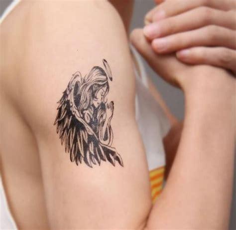 tattoo angel on arm 45 creative angel wing tattoos amazing tattoo ideas