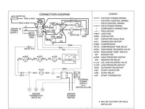 carrier start capacitor wiring diagram carrier compressor