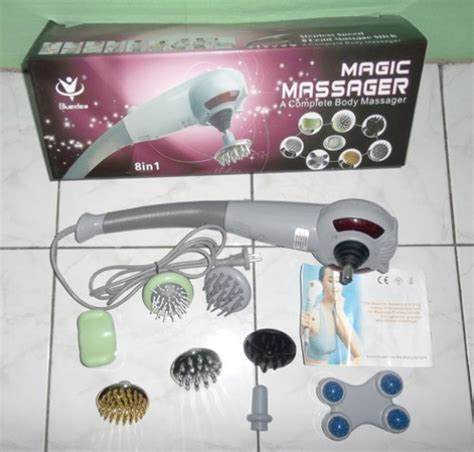 Alat Pijat Magic Massager 8in1 magic massager 8in1 alat pijat badan dengan 8 kepala