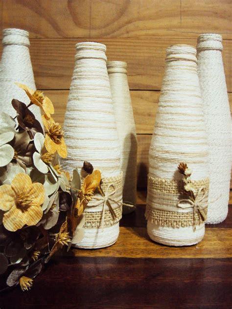 Juicer 4 Juta garrafas decoradas barbante juta lembrancinha cha de panela casamento decora 231 227 o de