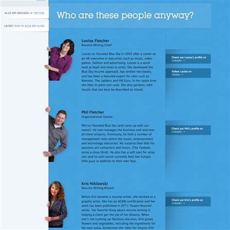 layout of biography meet the team pages exles and trends smashing magazine