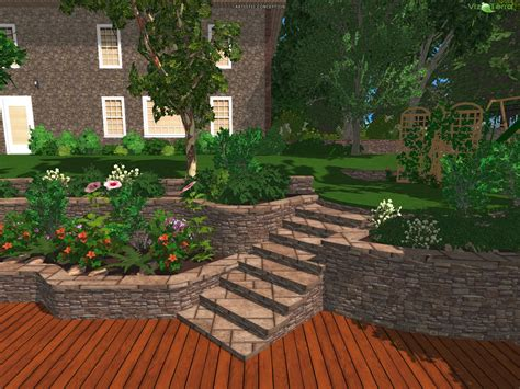 backyard landscaping designs free 3d scanner image 3d landscape for everyone