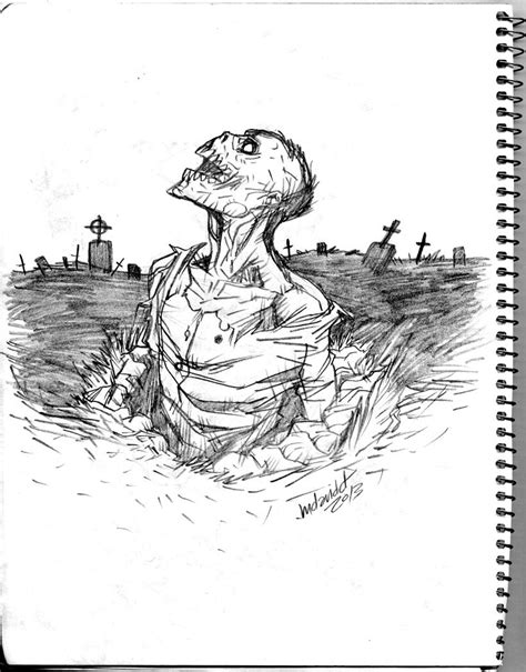 Drawing Zombies by Drawings In Pencil Return Pencil Sketch By