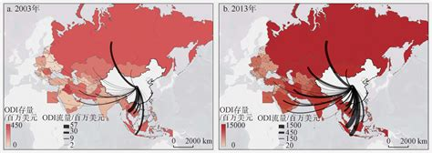 spatial pattern definition geography spatial pattern of chinese outward direct investment in