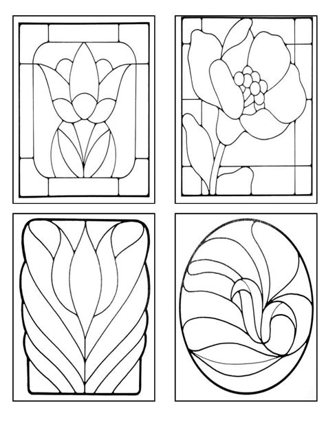 Stained Glass Vase Patterns by Kiln Will Travel July 2010