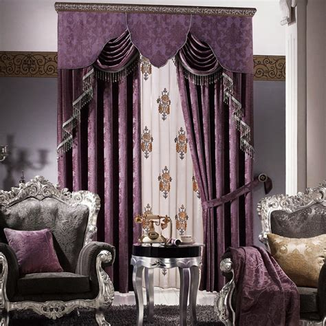 bedroom curtains with valance purple valances for bedroom window treatments design ideas