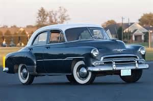 1951 Chevrolet Styleline Deluxe 1952 Chevrolet Styleline Special 2 Door Sedan 4 Of 9