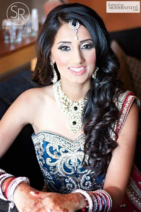 open hair hairstyles for indian wedding 20 gorgeous indian wedding hairstyle ideas