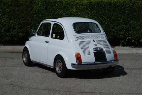 fast fiat 500 1970 fiat 500 abarth d fast and modified no rust