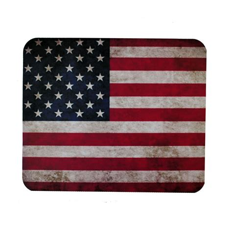 rugged american flag rugged usa american flag mouse pad mat computer desk